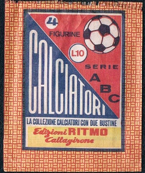 1968 Ritmo ABC Caltagirone packet